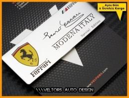 Ferrari Modena Plaket Logo Amblem