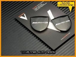 Mercedes AMG Body  Logo Amblem Seti