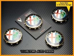 Alfa Romeo Jant Göbeği  Göbek Kapak Seti
