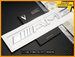 Mercedes AMG Bagaj Yazı Logo Amblem