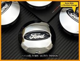Ford Logo Amblem Explorer Ranger Edge Jant Göbeği Göbek Kapak Seti