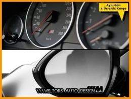 BMW Gösterge Torpido Ayna Vites Konsol M Logo Amblem Seti