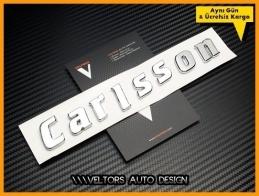 Mercedes Carlsson Bagaj Yazı Logo Amblem