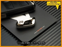 VW Golf Polo R Kumanda Anahtar R line Logo Amblem Eklenti