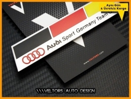Audi Sport Germany Team Logo Amblem