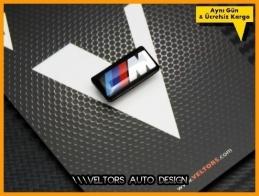BMW M Technic M Direksiyon Logo Amblem