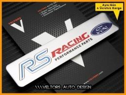Ford RS Racing Performance Logo Amblem