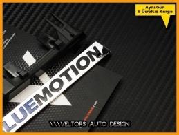 VW Passat Bluemotion Ön Izgara Logo Amblem