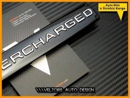 Range Rover Supercharged Bagaj Yazı Logo Amblem