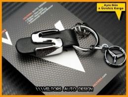 Mercedes S Class Serisi S Class Logo Amblem Anahtarlık