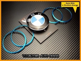 BMW Jant Göbeği  Göbek Kapak Çerçeve Seti