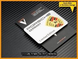 Porsche Limited Edition Plaketi Logosu Amblemi