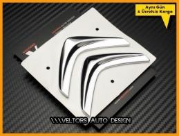 Citroen Bagaj Yazı Logo Amblem