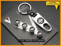 Mini Logo Amblem Anahtarlık Sibop Kapak Seti