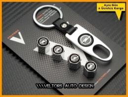 Opel Logo Amblem Anahtarlık Sibop Kapak Seti