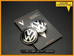 VW Black / Siyah Direksiyon Logo Amblem