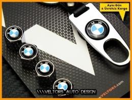 BMW Logo Amblem Anahtarlık Sibop Kapak Seti