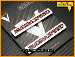 Mazda Speed Koltuk Döşeme Logo Amblem Seti