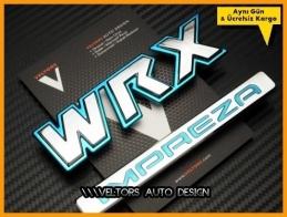 Subaru Sti WRX IMPREZA Logo Amblem Seti