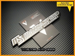 Mazda Speed Performance Logo Amblem