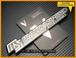 Mazda Speed Performance Logo Amblem