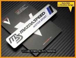 Mazda Motorsport Araç Logo Amblem