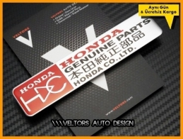 Honda Genuine Parts Logo Amblem