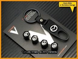 Mazda Logo Amblem Anahtarlık Sibop Kapak Seti