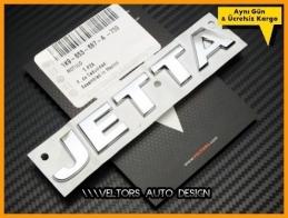 VW Orjinal Jetta Bagaj Yazı Logo Amblem