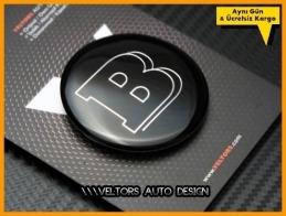 Mercedes Brabus Direksiyon Logo Amblem
