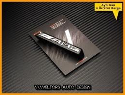 Mercedes Yeni Nesil AMG Ön Izgara Logo Amblem