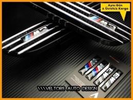 BMW E36 E46 M3 Yan Çamurluk Izgara Seti