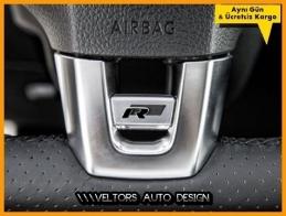 VW R Line Direksiyon Logo Amblem