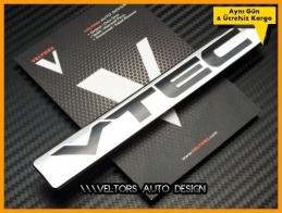 Honda vtec Yazı Logo Amblem