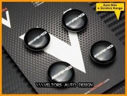 Mercedes AMG Logo Amblem Seti