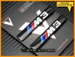 BMW M3 Koltuk Döşeme Logo Amblem Seti