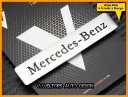 Mercedes Torpido Kokpit Plaket Logo Amblem