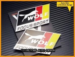 Ford Focus Sport Araç Logo Amblem Seti