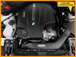 BMW M Performance Power Kit Logo Amblem