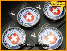 BMW HRE Logo Amblem Jant Göbeği Göbek Kapak Seti