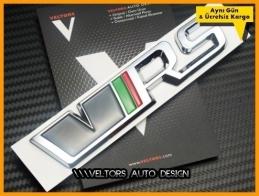 Skoda VRS RS Bagaj Yazı Logo Amblem