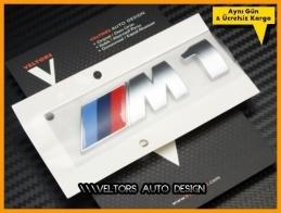 BMW E81 E82 E87 E88 F20 F21 Serisi M1 Bagaj Yazı Logo Amblem