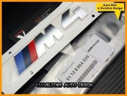 BMW F32 F33 F36 4 Serisi M4 Bagaj Yazı Logo Amblem