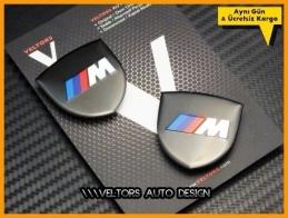 BMW M Araç Body Logo Amblem Seti