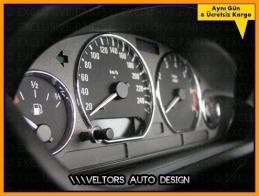 BMW E36 3 Serisi Kadran Halka Gösterge Çerçeve Seti