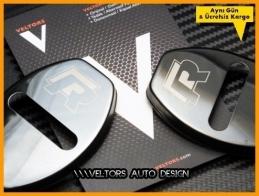 VW Kapı Kilit R line R Logo Amblem Seti