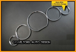 Mercedes  R129 / W129 Kadran Halka Gösterge Çerçeve Seti