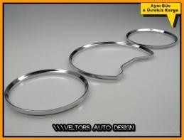 Mercedes W202 C Class Kadran Halka Gösterge Çerçeve Seti
