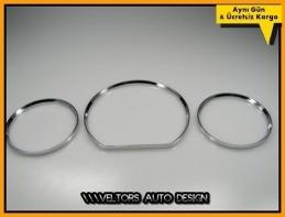 Mercedes W208 CLK Class Kadran Halka Gösterge Çerçeve Seti