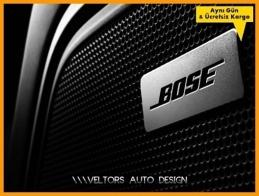 Audi BOSE Hoparlör Stereo Logo Amblem Seti